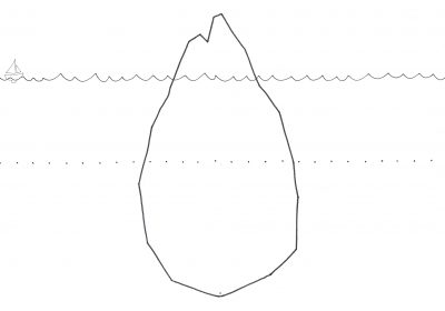 Sketch Of An Iceberg